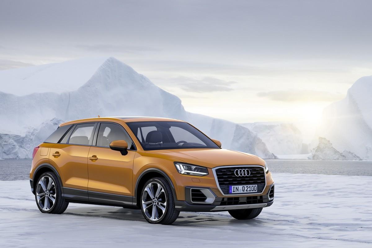 Dla najmłodszego członka rodziny Q dostępne są silniki TDI i TFSI – zakres ich mocy sięga od 85 kW (116 KM) do 140 kW (190 KM). Siedmiostopniowa, automatyczna skrzynia biegów S tronic dostępna jest w kombinacji z każdym wariantem silnika, a stały napęd na cztery koła quattro montowany jest w wersjach o mocy powyżej 110 kW (150 KM) / Fot. Audi