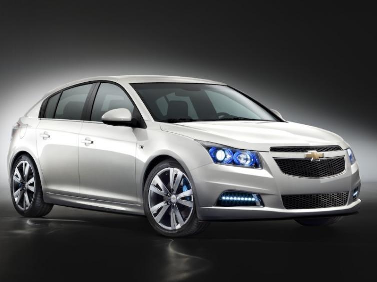 Chevrolet Cruze we wersji hatchback już wiosną