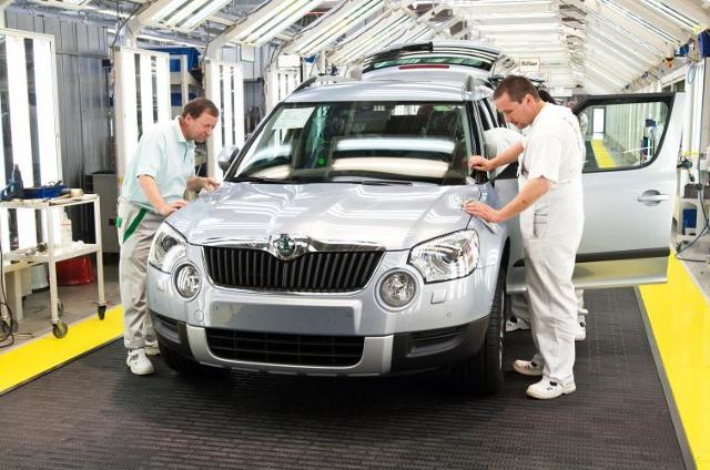 Skoda Yeti - wyprodukowano sto tysięcy sztuk tego SUV-a