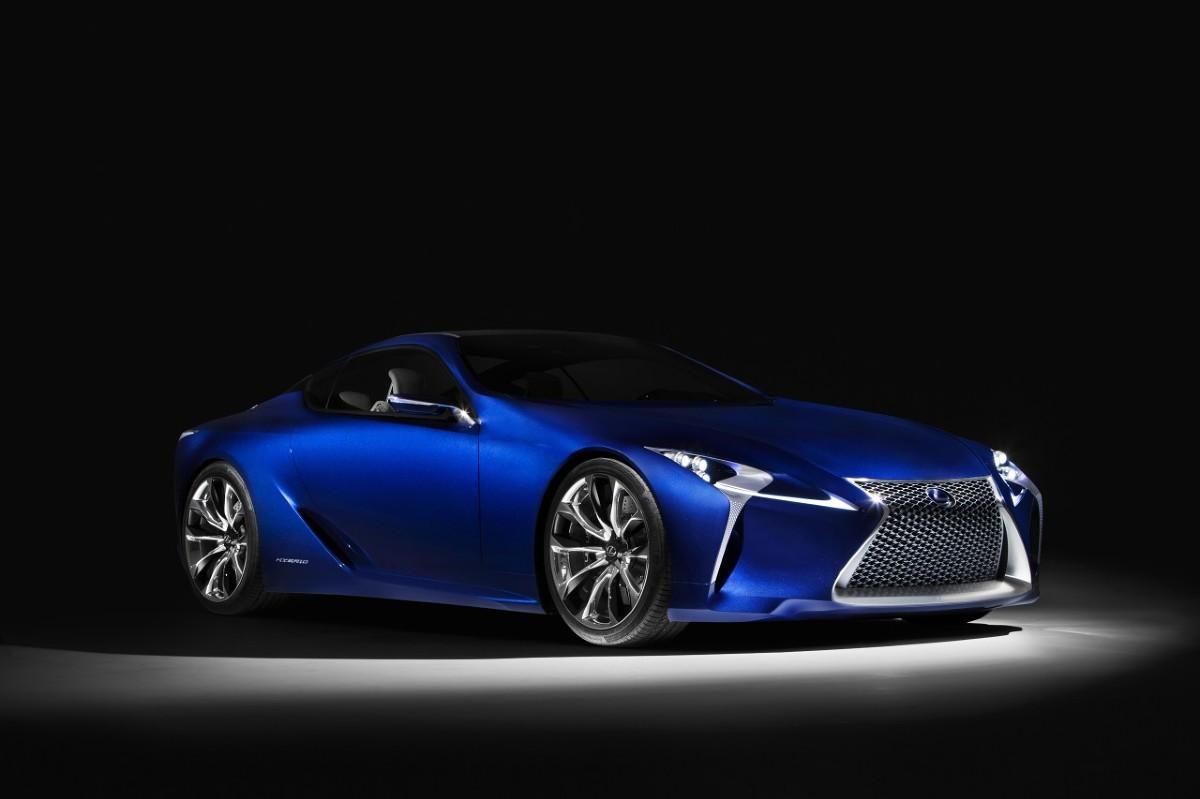 Protoplastą modelu LC jest samochód koncepcyjny LF-LC (skrót od Lexus Future Luxury Coupe).  Lexus LF-LC  / Fot. Lexus