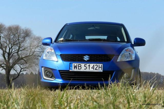 Suzuki Swift  Fot:  Robert Kulczyk
