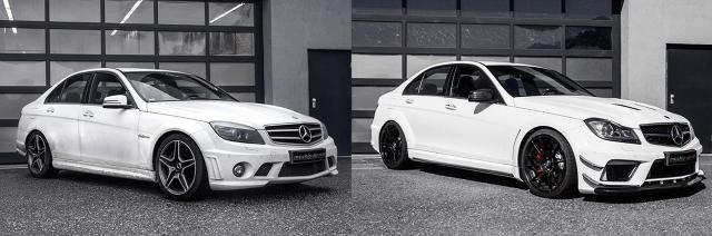 Mercedes-Benz C63 AMG / Fot. Mcchip-dkr