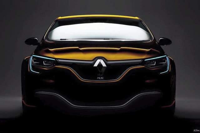 Poinformowano, że auto tak jak poprzednik nie będzie dostępne w odmianie trzydrzwiowej. Dokładne dane techniczne nie są jeszcze znane, ale pod maską zagości prawdopodobnie jednostka, która dostarczy 300 KM mocy / Fot. Renault