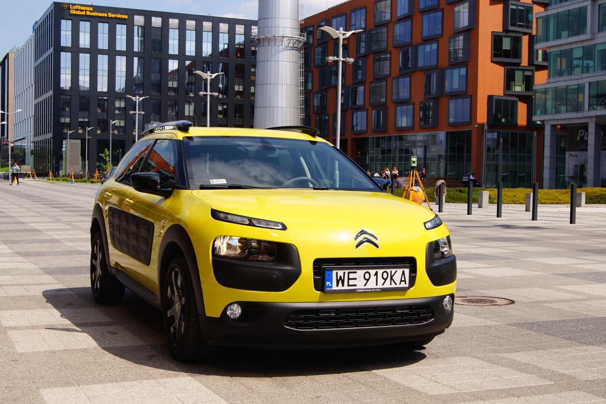 Citroën C4 Cactus to samochód osobowy typu crossover, klasy aut miejskich, produkowany przez francuski koncern PSA Peugeot Citroën od roku 2014. Czy warto się nim zainteresować?  Fot. Bogusław Korzeniowski