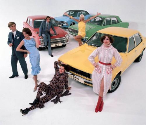 Fot. Ford: Ford Cortina to efekt urażonej brytyjskiej ambicji. Został zaprojektowany przez brytyjski oddział Forda, wiec nic dziwnego, że spodobał się Brytyjczykom.