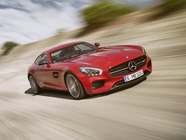 Mercedes AMG GT/fot. Daimler