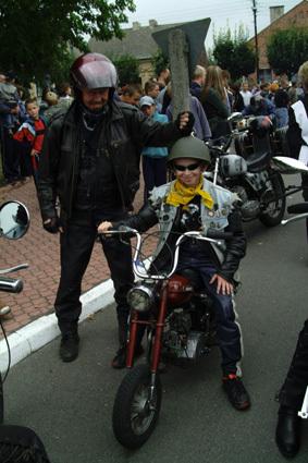 Fot. M. Jurgielewicz: Najmłodszym uczestnikiem zlotu był 13-letni Michał Gutowski , który przyjechał z Turku z tatą Markiem.