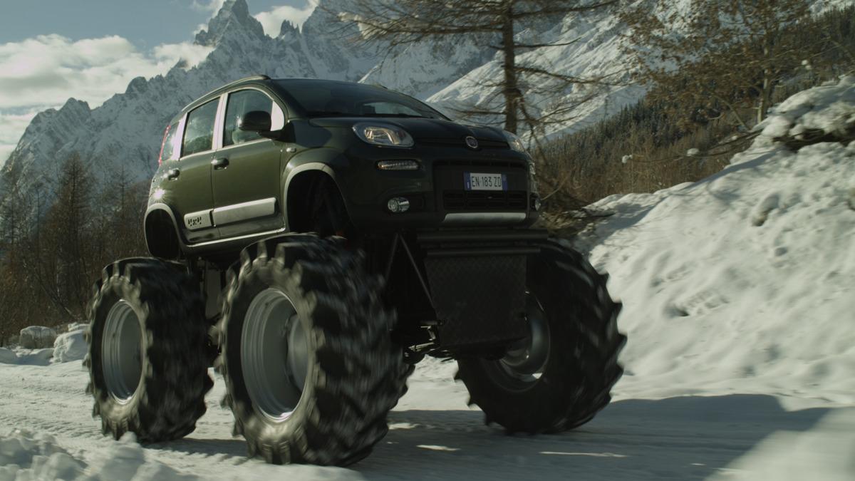 Fiat Panda Monster Truck Fot: Fiat