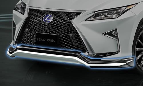 Dostawca fabrycznych rozwiązań tuningowych TRD przygotował zestaw akcesoriów do tuningu najnowszego Lexusa RX / Fot TRD