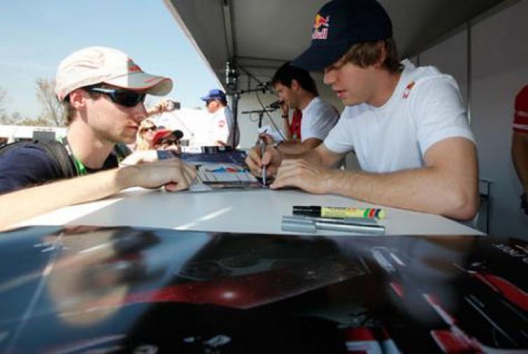 Grand Prix Brazylii: Vettel wygrywa kwalifikacje