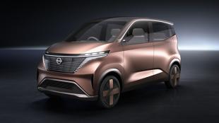 Nissan IMk. Tak w przyszlości mają wyglądać auta miejskie
