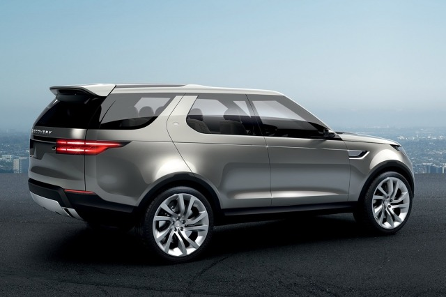 zdjęcie Land Rover Discovery Vision Concept