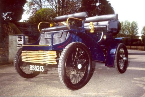 Fot. Vauxhall: Brytyjska firma Vauxhall zaczęła produkować samochody w 1903 r.