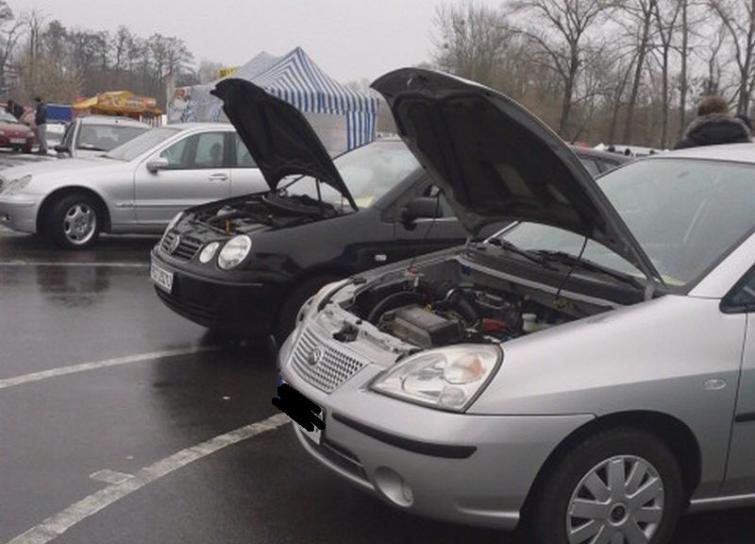 Giełda samochodowa w Bydgoszczy (03.03,2013) - ceny aut używanych