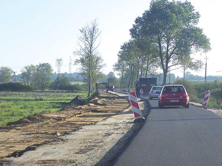 Przebudowa na trasie Koszalin – Iwięcino. Co z tą drogą?