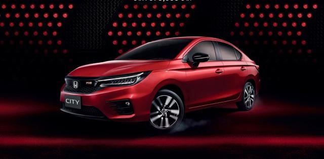 Projekt nadwozia nowej Hondy City jest zbliżony do modelu Civic. W kabinie znacznie ulepszono ergonomię i komfort podróżowania. Fot. Honda
