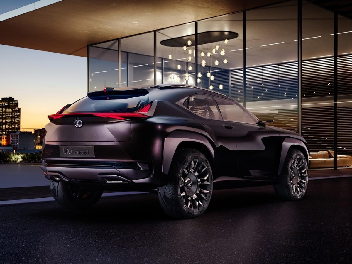 Lexus UX / Fot. Lexus