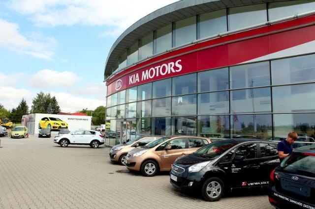Otwarcie nowego salonu samochodowego marki Kia w Lublinie