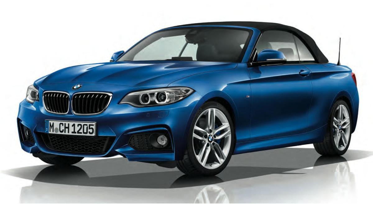 BMW Serii 2 Cabrio M Sport / Fot. BMW