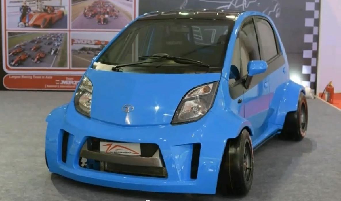 Tata Super Nano / Fot. http://indianautosblog.com/2014/12/super-tata-nano-ja-motorsport-161583