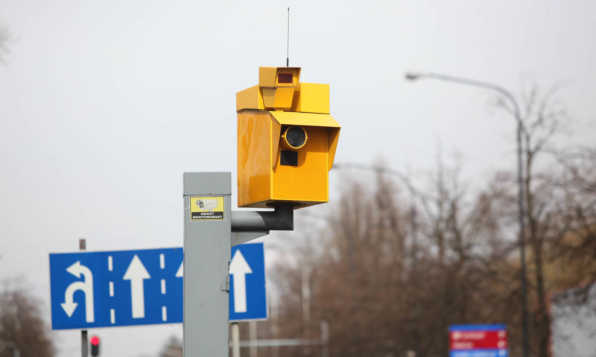 GITD planuje nowe fotoradary Fot. Archiwum