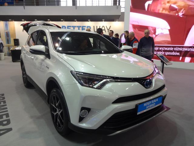 Toyota na Poznań Motor Show  Fot. Tomasz Szmandra