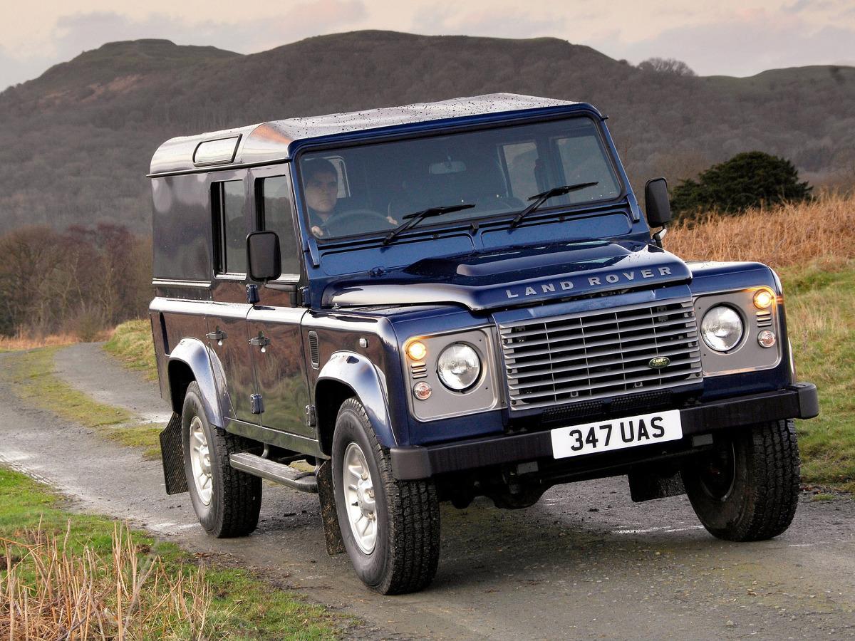 Defender 110 Utility / Fot. Land Rover