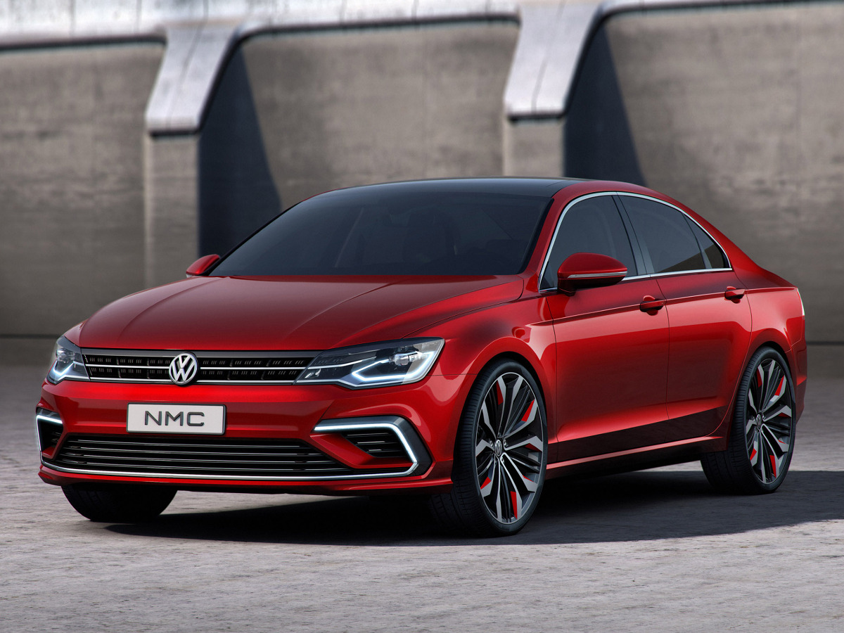 VW New Midsize Coupe  / Fot. Volkswagen