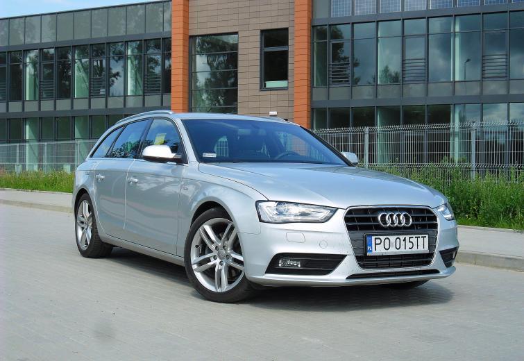 Testujemy Audi A4 20 Tdi Avant Sportowe Kombi Zdjęcia Film