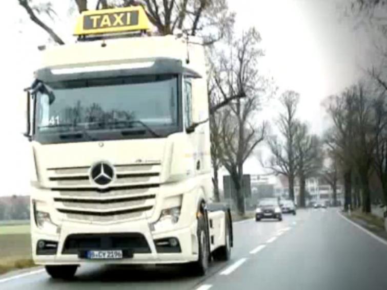 Niezwykle oryginalna taksówka - zobacz film