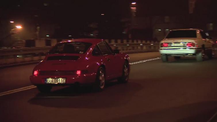 Na zlocie Zabrzańskie Klasyki Nocą można było podziwiać m.in. Porsche 911 (964)