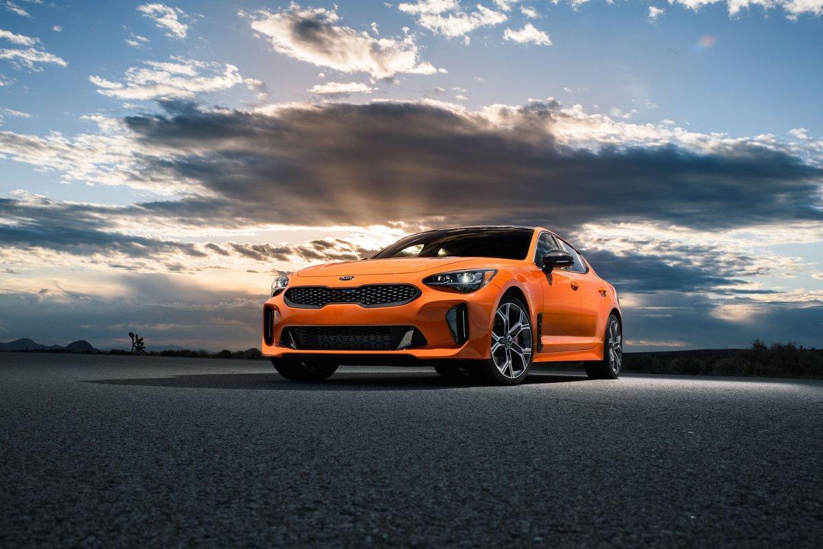 Kia Stinger GTS  Produkcja 800 egzemplarzy Stingera w limitowanej serii GTS ruszy wiosną. Wszystkie egzemplarze trafią prawdopodobnie na rynek amerykański.  Fot. Kia