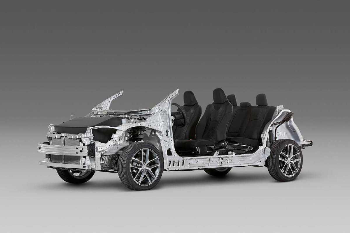Modularne platformy samochodowe pozwalają producentom znacząco uprościć produkcję nowych modeli.   Fot. Toyota