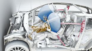 Bezpieczeństwo czynne i bierne  Fot. Volvo