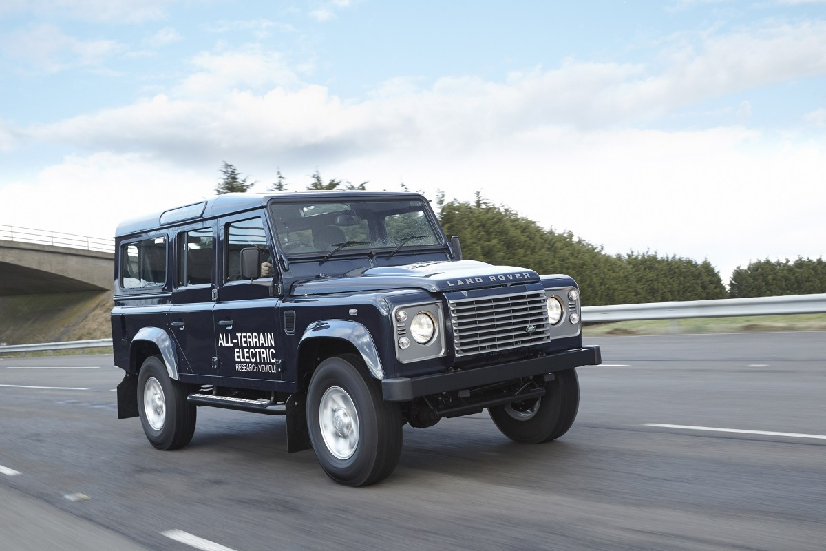 Land Rover Electric Defender MY13, Fot: Land Rover