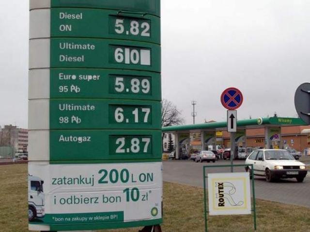 Uwaga kierowcy! Benzyna mocno w górę