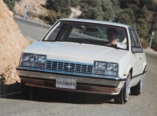 Chevrolet Celebrity (1982 - 1990) Sedan