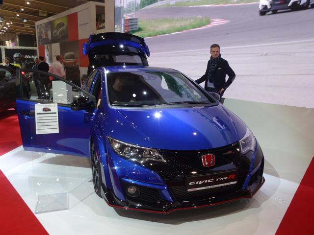 Honda na Poznań Motor Show  fot. Tomasz Szmandra