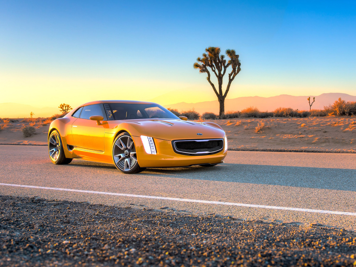 Kia GT4 Stinger / Fot. Kia