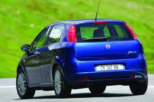 Fot. Fiat: Fiat Grande Punto jest rzeczywiście duży, większy od Fabii.