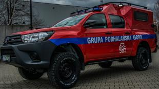 GOPR. Nowe auta dla ratowników. Jakie mają wyposażenie?