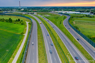 Lockdown w Polsce. Ruch na drogach krajowych - nowe dane GDDKiA