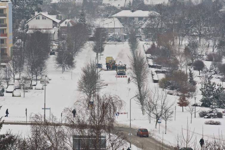 Ulica Małcużyńskiego w Słupsku w środę ma być przejezdna
