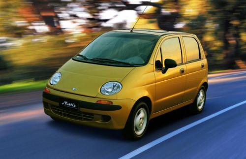 Wszystkie nowe Daewoo/FSO Matiz (1998 - 2008) XQ11