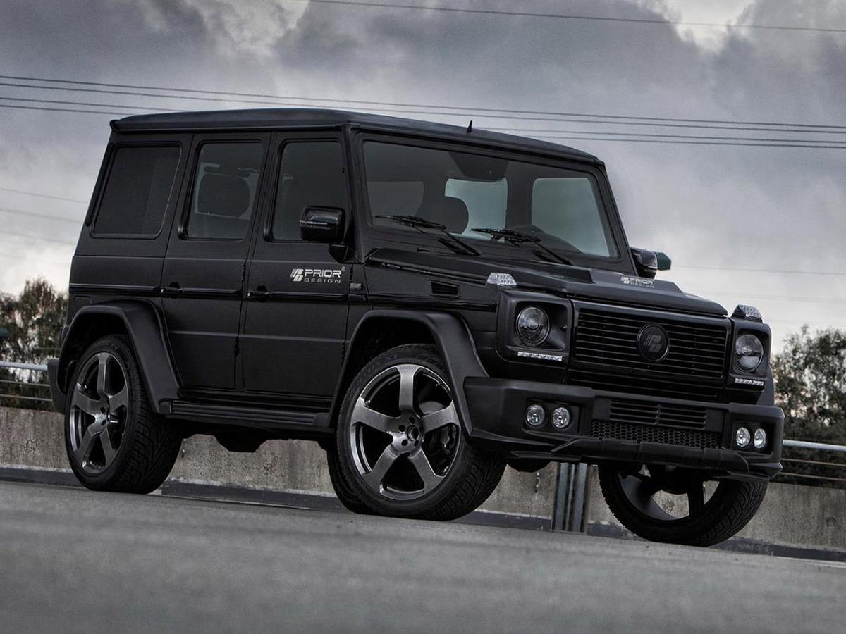 Mercedes G Tuning >> Mercedes Klasy G po tuningu przez Prior Design - Mercedes-Benz Klasy G / Fot. Prior Design ...