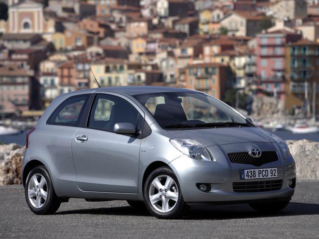 Toyota Yaris (2005-2009) / Fot. Toyota