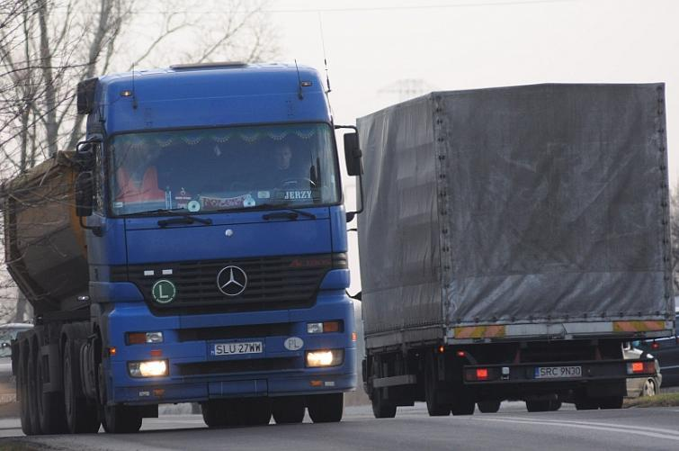 Opole: zakaz wjazdu dla tirów do miasta
