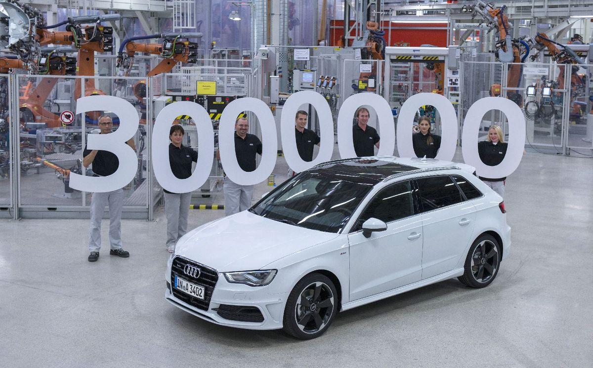 Trzymilionowe Audi A3