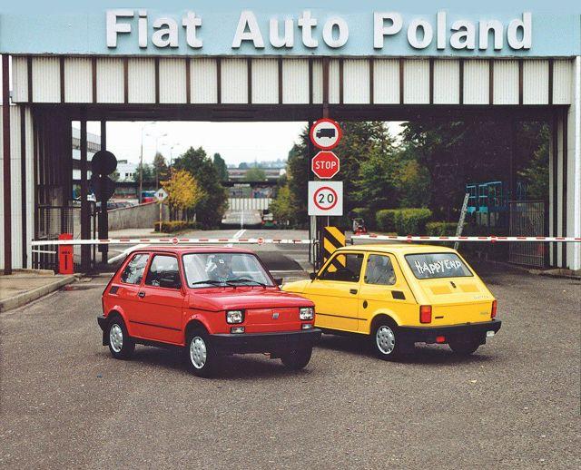 Fiat 126p Maluch Fot: Fiat