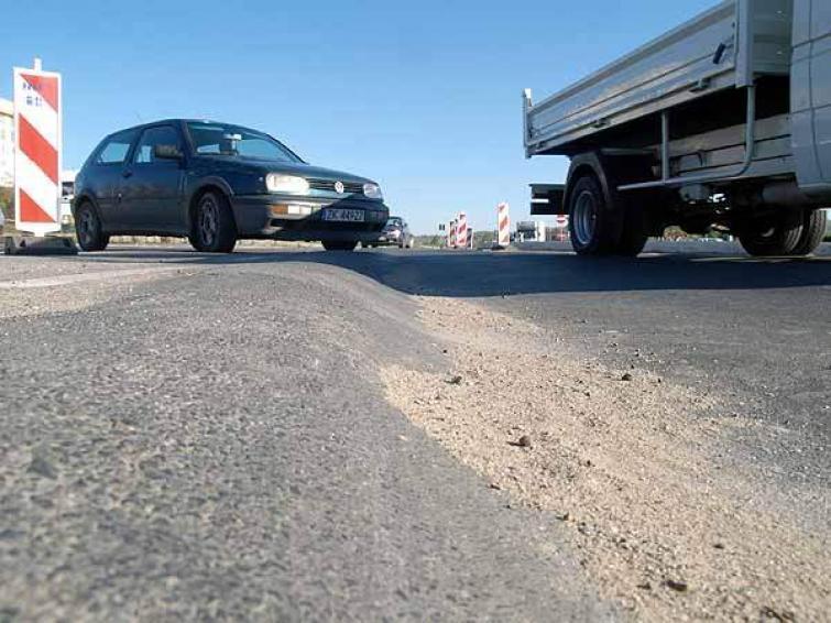Utrudnienia w ruchu na ulicach Koszalina